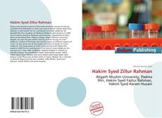 Bookcover of Hakim Syed Zillur Rahman