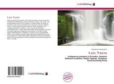 Portada del libro de Luis Yanza