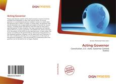 Capa do livro de Acting Governor