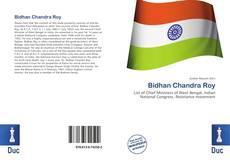 Buchcover von Bidhan Chandra Roy
