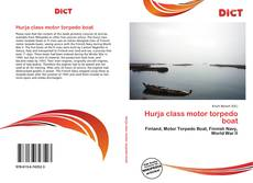 Bookcover of Hurja class motor torpedo boat