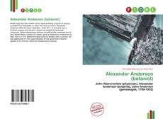 Borítókép a  Alexander Anderson (botanist) - hoz