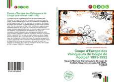Bookcover of Coupe d'Europe des Vainqueurs de Coupe de Football 1991-1992