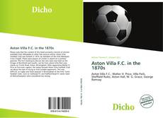 Capa do livro de Aston Villa F.C. in the 1870s