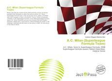 Capa do livro de A.C. Milan (Superleague Formula Team)