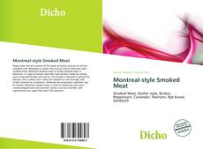 Bookcover of Montreal-style Smoked Meat