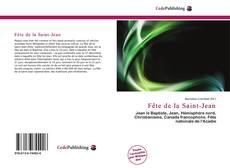 Capa do livro de Fête de la Saint-Jean