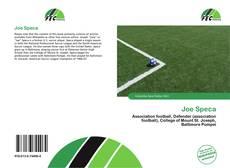 Joe Speca kitap kapağı