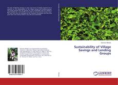 Bookcover of Sustainability of Village Savings and Lending Groups
