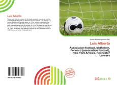 Capa do livro de Luis Alberto