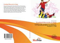 Bookcover of Football Records in Italy