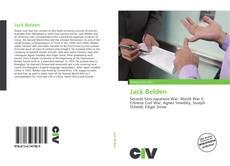 Capa do livro de Jack Belden