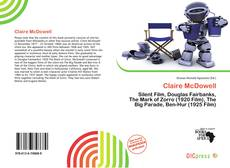 Bookcover of Claire McDowell