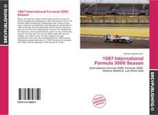 Capa do livro de 1987 International Formula 3000 Season