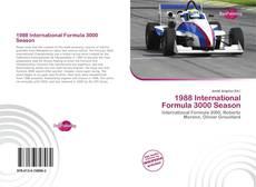 Capa do livro de 1988 International Formula 3000 Season