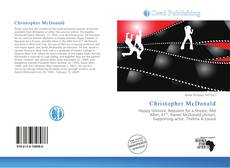 Bookcover of Christopher McDonald