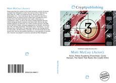 Matt McCoy (Actor)的封面