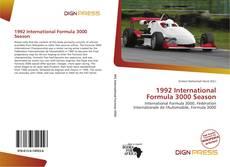 Capa do livro de 1992 International Formula 3000 Season