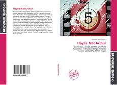 Couverture de Hayes MacArthur