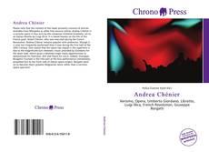Capa do livro de Andrea Chénier