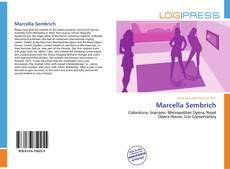 Bookcover of Marcella Sembrich