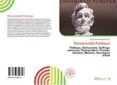 Personnalité Politique的封面