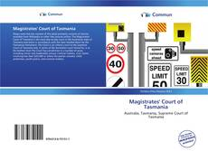 Bookcover of Magistrates' Court of Tasmania