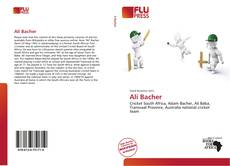Bookcover of Ali Bacher