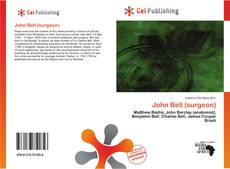 Bookcover of John Bell (surgeon)