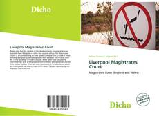 Copertina di Liverpool Magistrates' Court