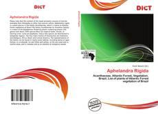 Buchcover von Aphelandra Rigida