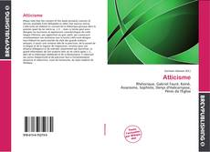 Bookcover of Atticisme