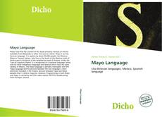 Bookcover of Mayo Language