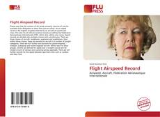 Couverture de Flight Airspeed Record