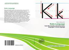 Kalix Language的封面