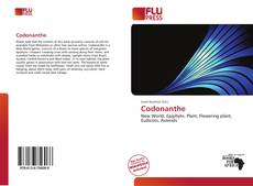 Bookcover of Codonanthe