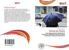 Climat de l'Isère的封面