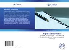 Обложка Algernon Blackwood