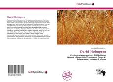 Bookcover of David Holmgren