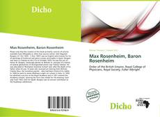 Bookcover of Max Rosenheim, Baron Rosenheim