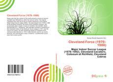 Обложка Cleveland Force (1978–1988)