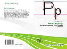 Bookcover of Mara Language