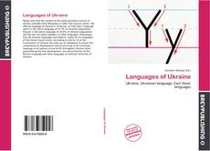 Bookcover of Languages of Ukraine