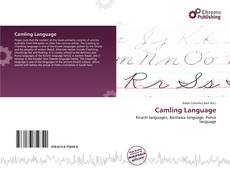 Bookcover of Camling Language