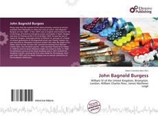Bookcover of John Bagnold Burgess