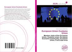European Union Customs Union的封面