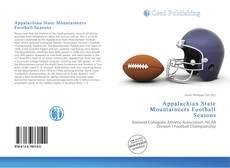Appalachian State Mountaineers Football Seasons kitap kapağı