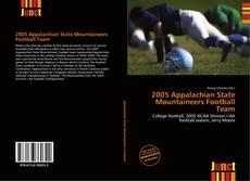 2005 Appalachian State Mountaineers Football Team kitap kapağı