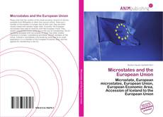 Portada del libro de Microstates and the European Union