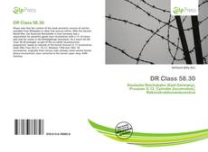 Bookcover of DR Class 58.30